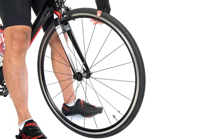 自転車 空気入れ