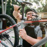 自転車 サドル交換