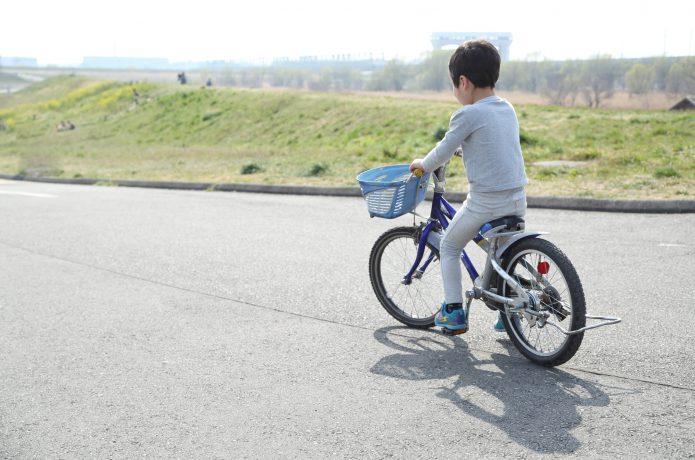 自転車へのステップアップとして