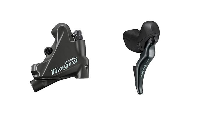 「TIAGRA」に油圧式ディスクブレーキが登場!