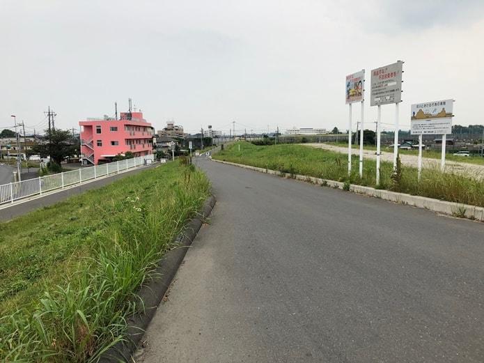 上江橋付近
