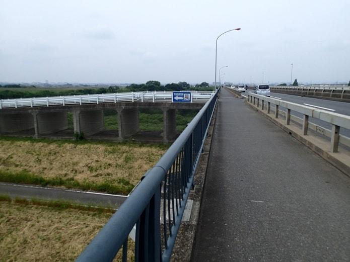 国道16号上江橋付近