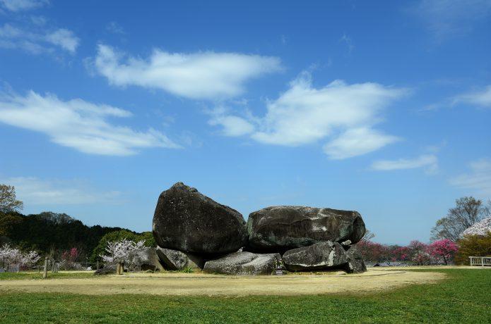 明日香村の石舞台古墳