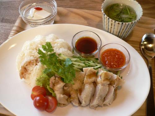 「珈琲さんぽ」の海難鶏飯