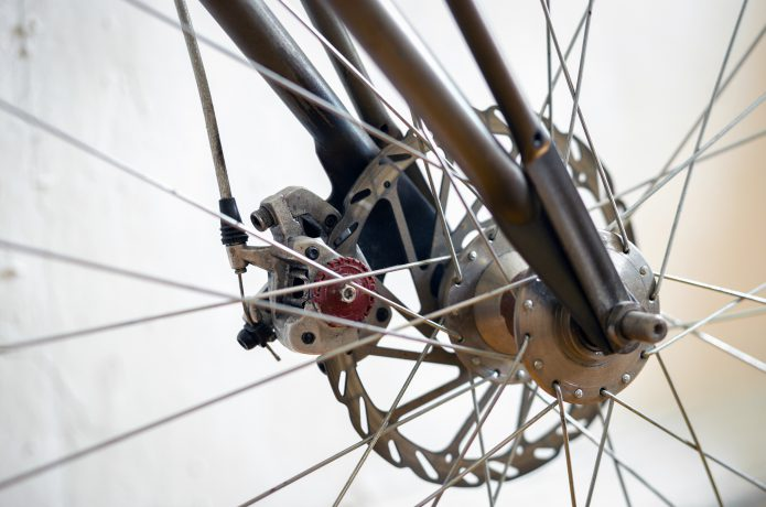 ロードバイクで増えてきたディスクブレーキ