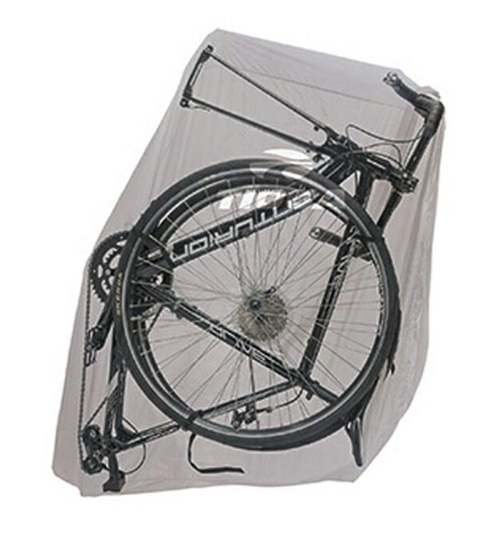 A:一番コンパクトなサイズになる、「両輪を外して縦に入れる」輪行袋