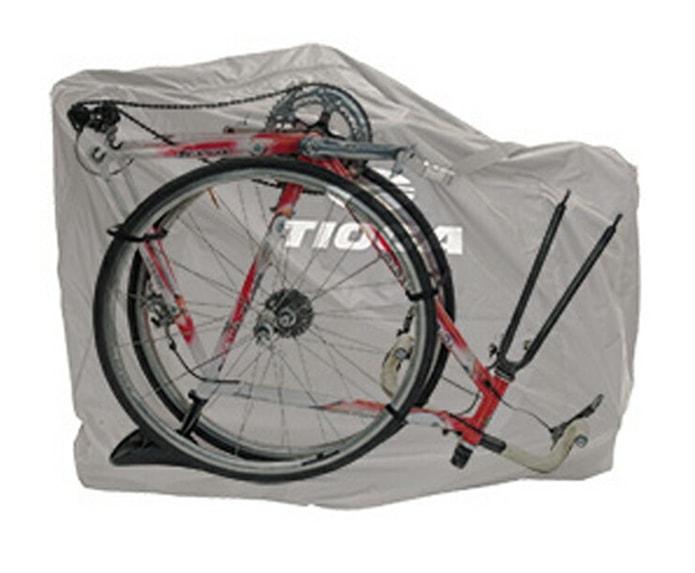 B:コンパクトさと使いやすさのバランス型「両輪を外して横に入れる」輪行袋