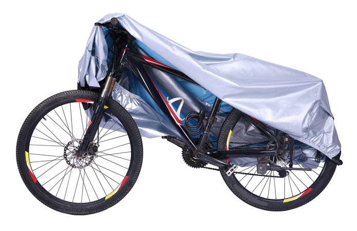 自転車を守る自転車カバー