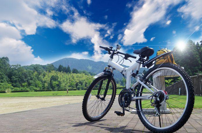 マウンテンバイクの画像