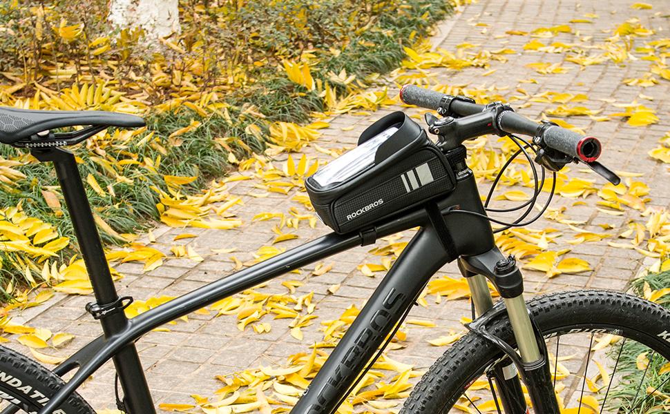 トップチューブバッグを使って快適にサイクリングしよう!