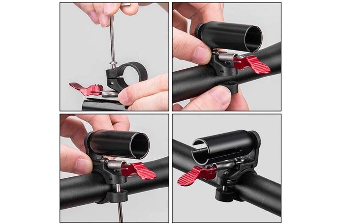 自転車のベルの取り付け方