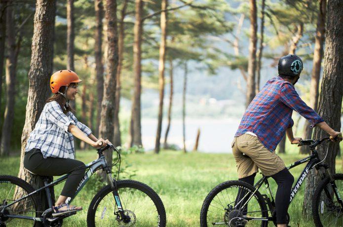 楽なサイクリング