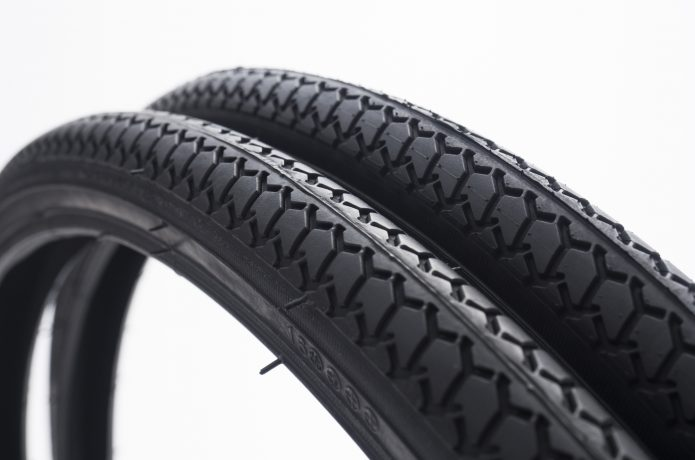 乗り心地を左右する、タイヤの太さ。