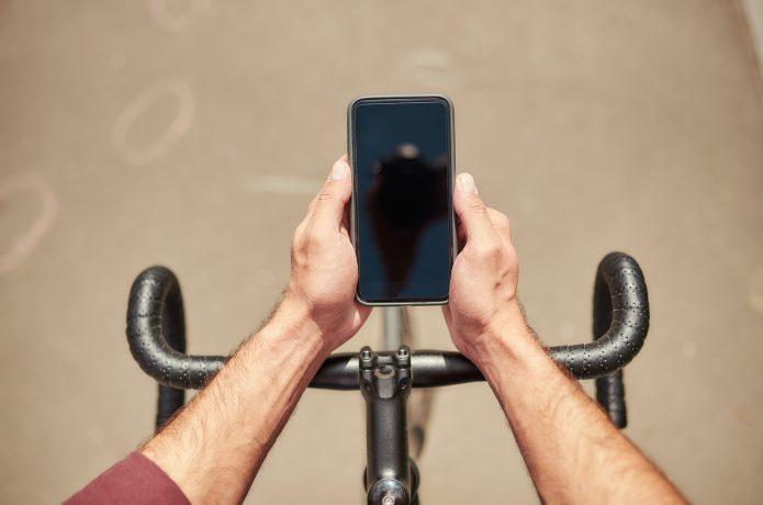 アプリで自転車をもっと楽しく、便利に。