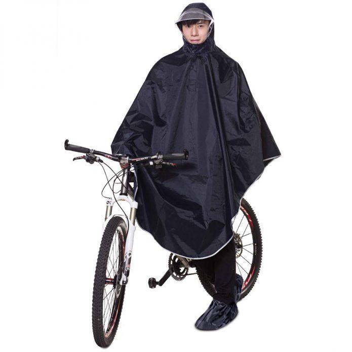 自転車用レインコートは2種類