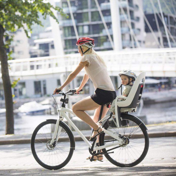 チャイルドシート取付可能な自転車かの確認も大切