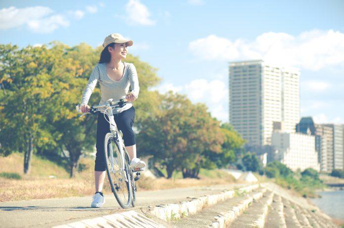 クロスバイクで自転車の移動が、快適な体験に!