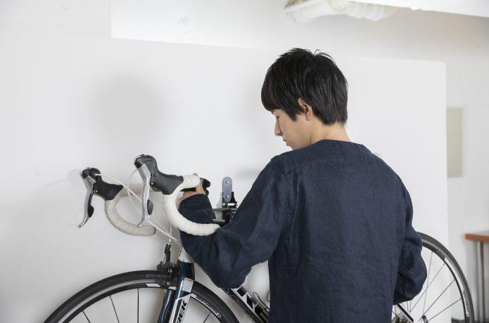 自転車を屋内で保管するなら、ディスプレイスタンド
