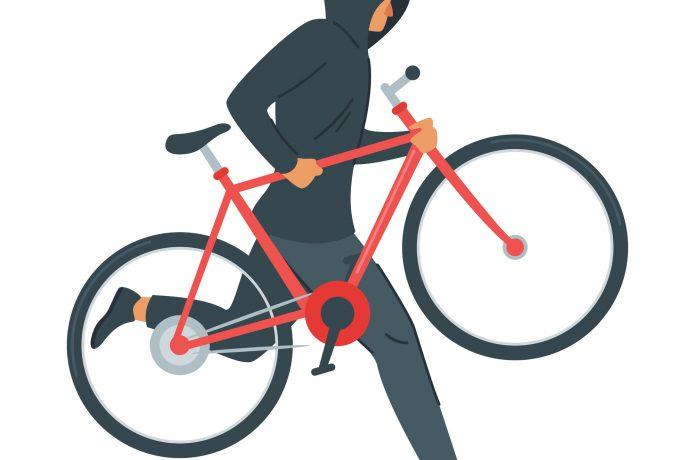 ロードバイクを盗まれないために、大切な鍵