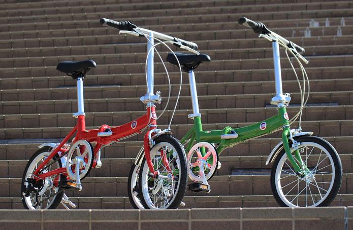 おしゃれでかわいい自転車「ミニベロ」