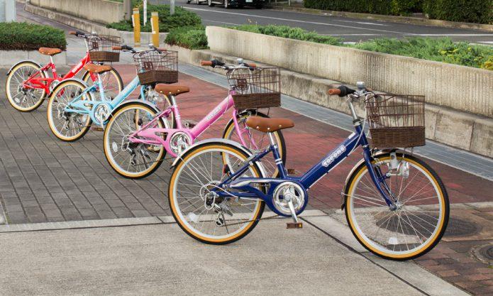 まずは、サイズにあった自転車を