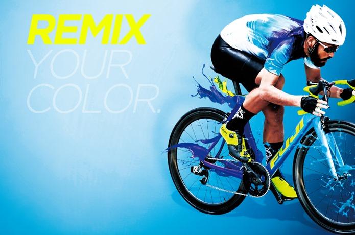 完全オリジナルのロードバイク「REMIX」