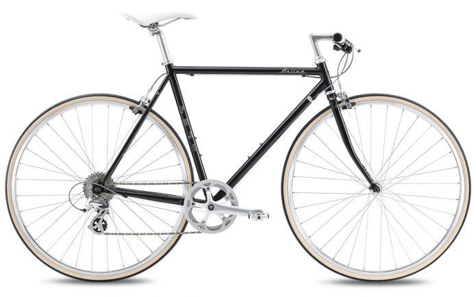 クロモリが美しい!FUJIのクロスバイク