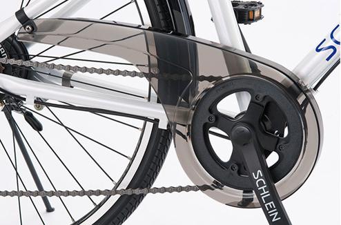 自転車用のチェーンカバー