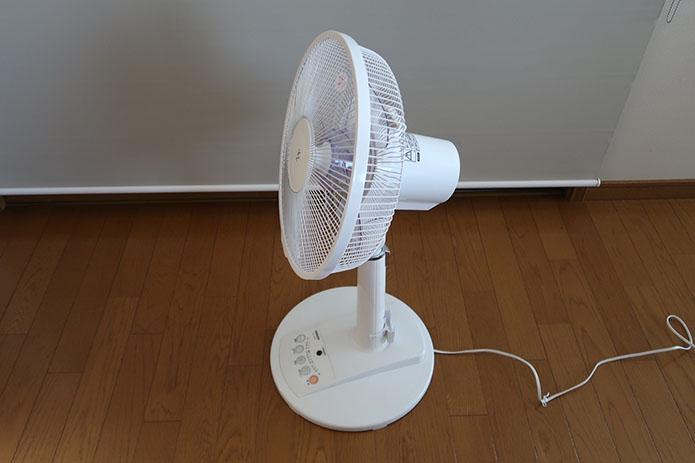 ZWIFT用扇風機