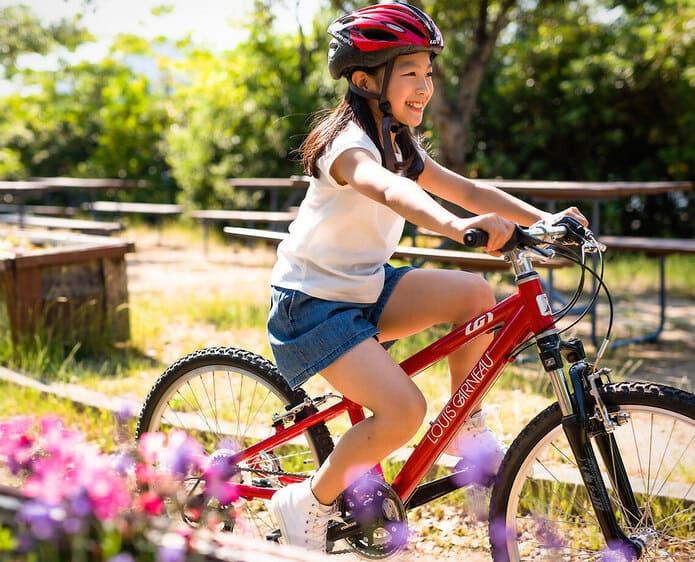 低学年から中学年までにぴったり。22インチの自転車