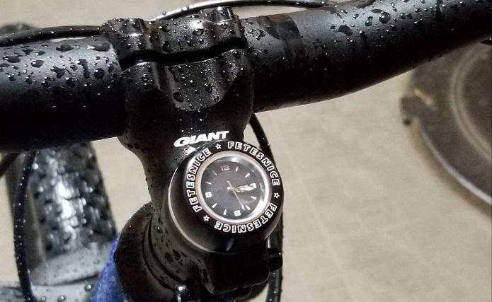 サイクリング中の時間確認、どうする?