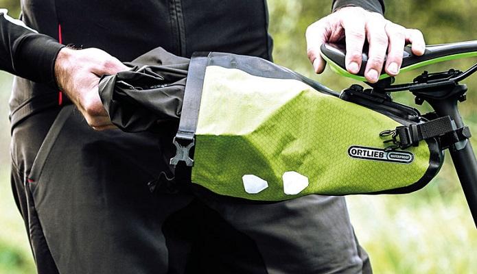 オルトリーブの防水バッグでサイクリングに出かけよう