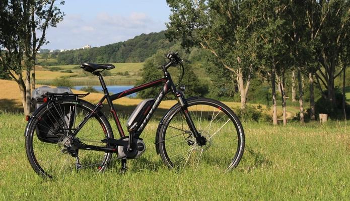 バッテリー外付けのe-bike