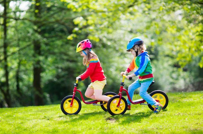 ペダルのない「トレーニングバイク」も人気