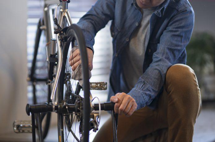効率のよいメンテナンス作業で、自転車を長く快適に