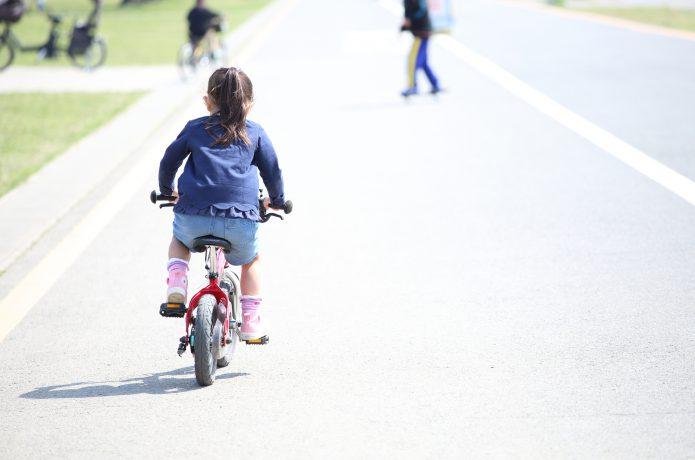3歳くらいから、自転車デビューしてみよう