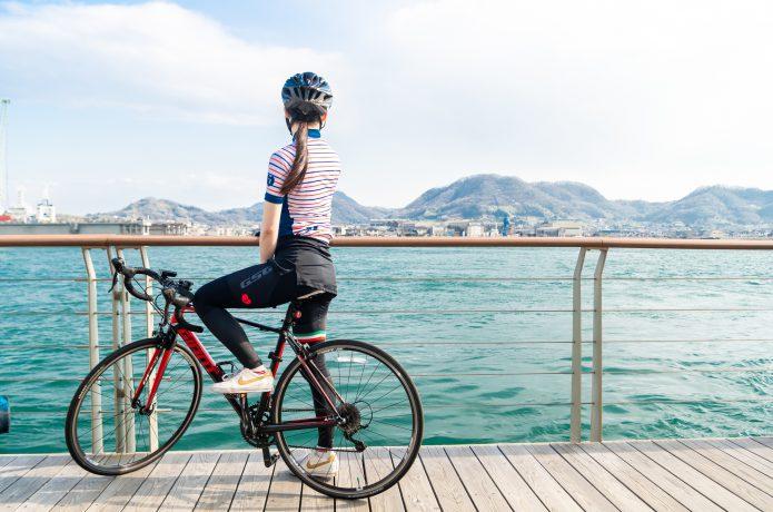 舗装道路を速く走るなら「ロードバイク」