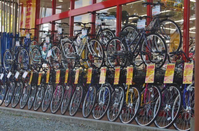自転車ショップで実際に見てみよう