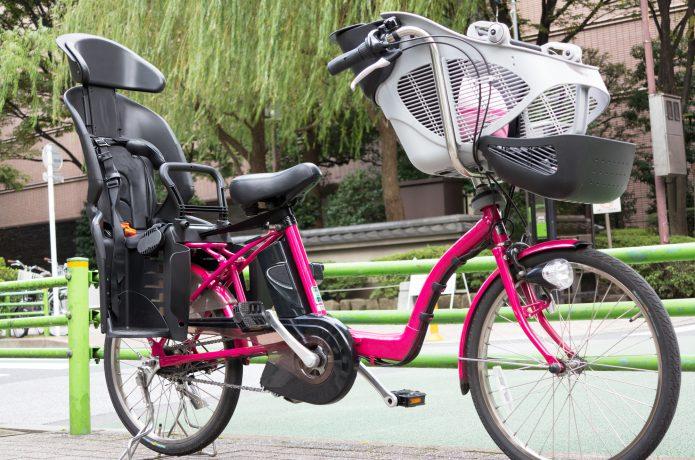 子どもの送迎がラクラク!「電動アシスト自転車」