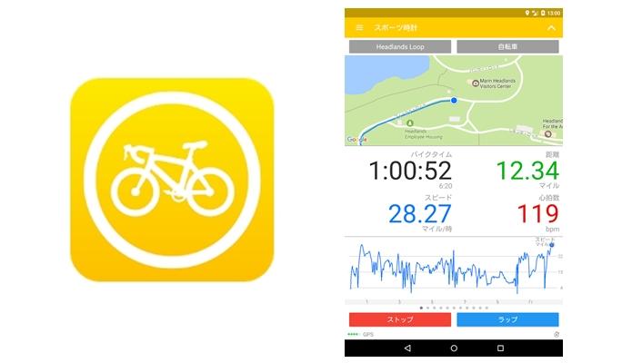Cyclemeter GPS(サイクルメーター・ジーピーエス)