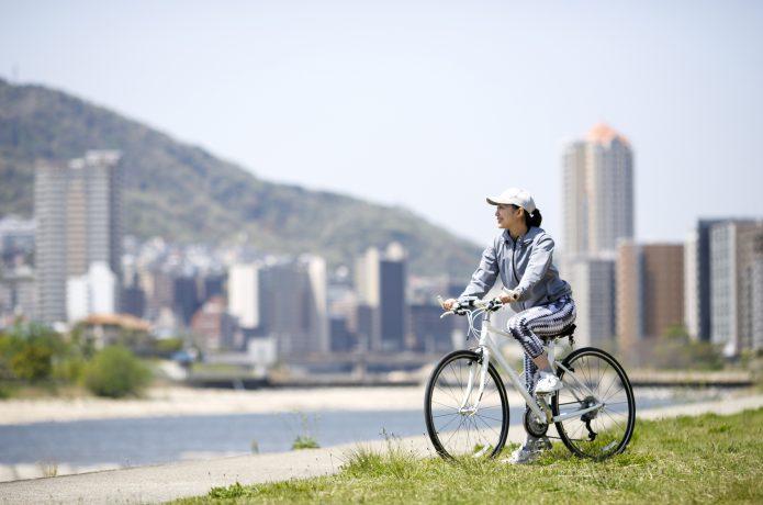 ゆるっとサイクリングするなら「クロスバイク」
