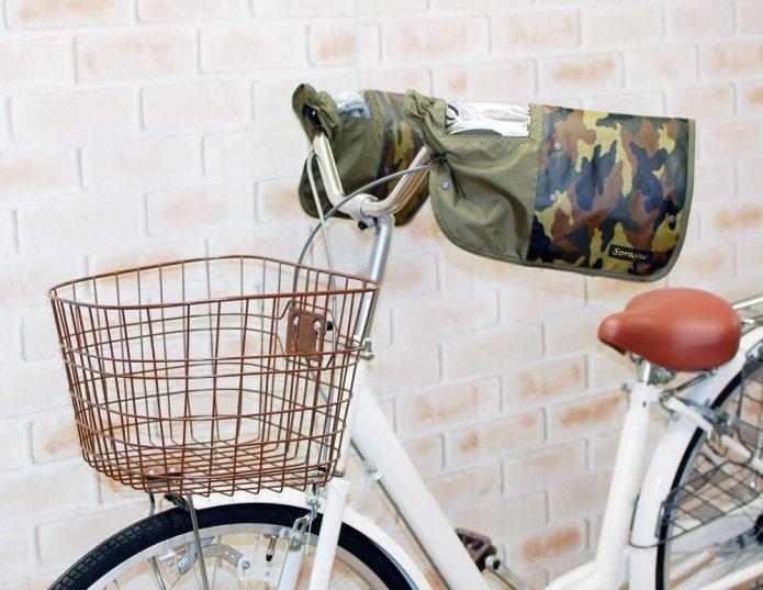 自転車のハンドルカバーって?
