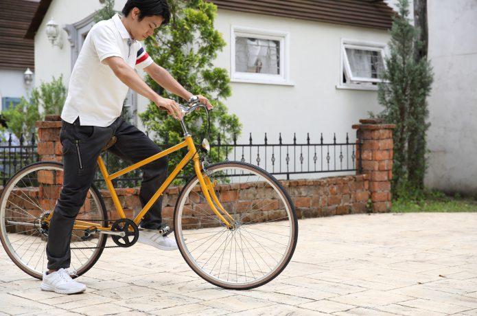 男性にはスポーツバイク(クロスバイクなど)