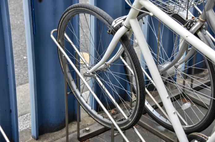 自転車を乗せるタイプ