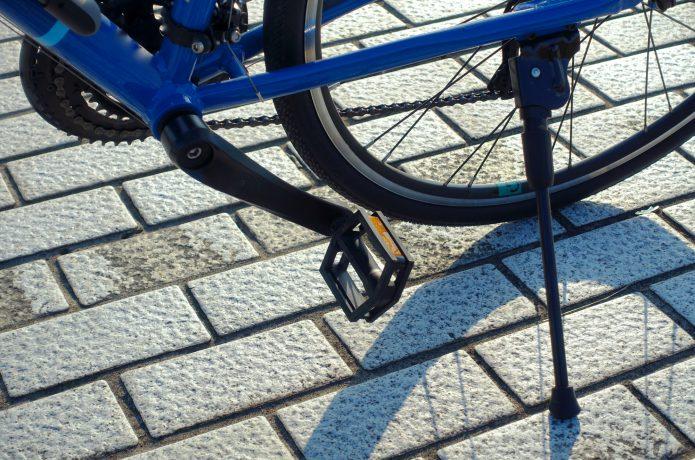 自転車に取り付けるタイプ