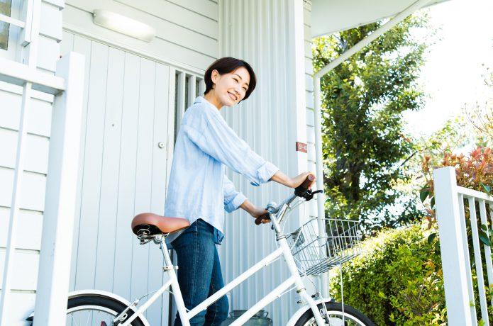 女性には、おしゃれなシティサイクルやミニベロ