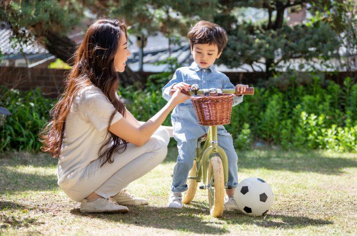 子供に自転車の楽しさを!
