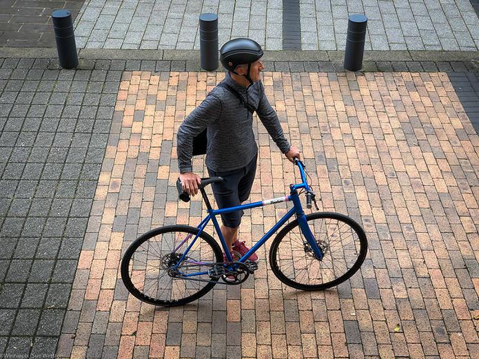 シティサイクルよりも、通勤通学向きです