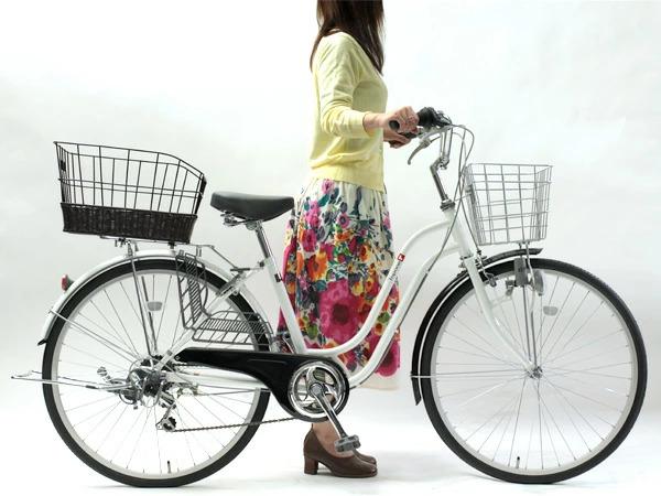 やっぱり便利な自転車のカゴ