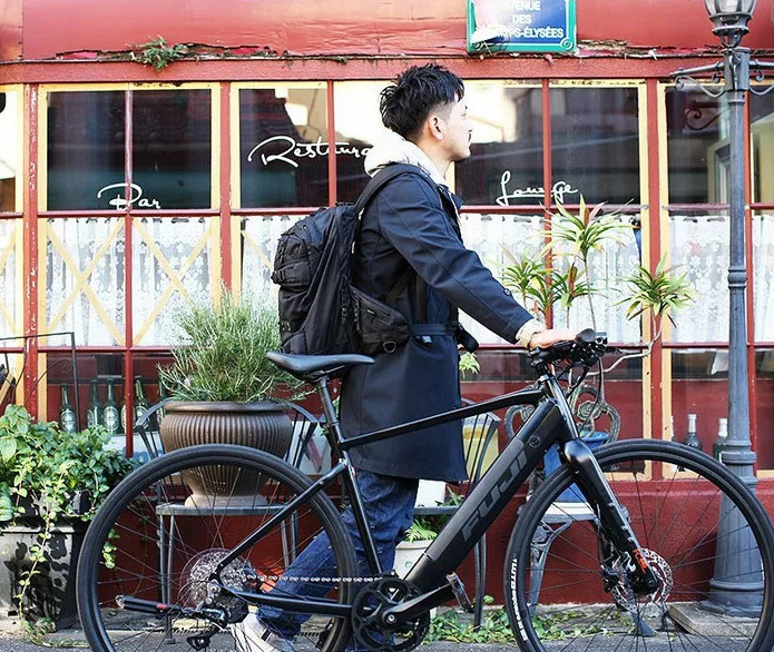 速く、快適に通勤通学!